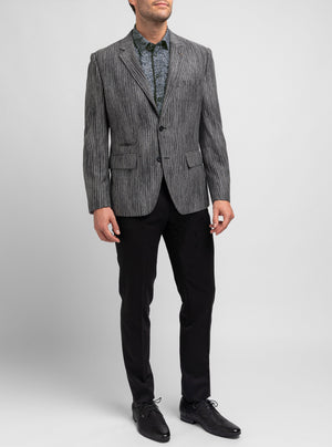 Stretch Knit Tailored Blazer