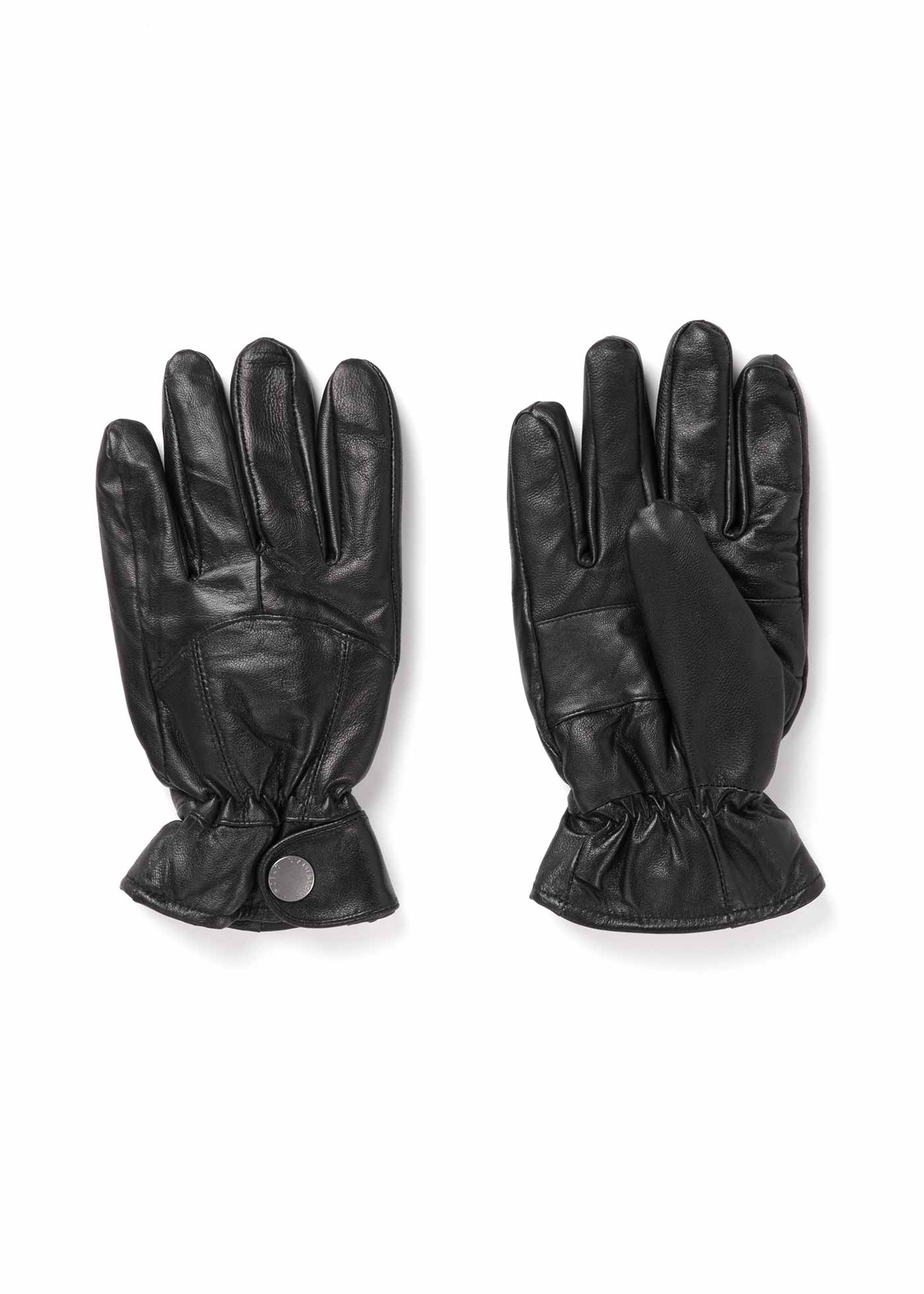 Adjustable leather glove