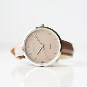 Engraved Anaii Watch In Sandstone - Wear We Met