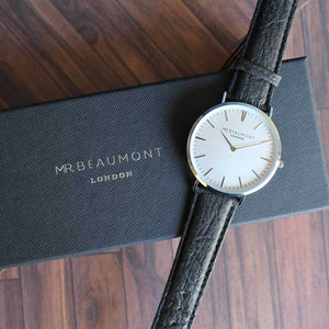 Personalised Mr Beaumont of London Men's Vegan-friendly Watch - Wear We Met