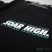 Adult - T-Shirt - Classic Soar High - Black