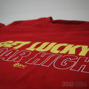 Adult - T-Shirt - Get Lucky Soar High - Red