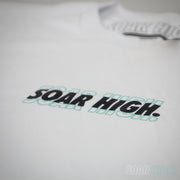 Adult - T-Shirt - Classic Soar High - White