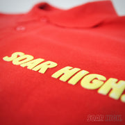 Adult - Polo T-Shirt - Soar High - Red