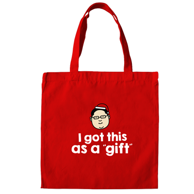 This Red Tote bag is the THE MAGA hat. Of Malaysia. Jho Low is an infamous Malaysian who is involved in the 1MDB scandal in which a Malaysian Prime Minister claimed to have received 2.6 billion as a gift. President Trump could not say anything more outrageous. Featuring Apom's trademark tongue in cheek humour this bag makes a great Malaysian gift and souvenir