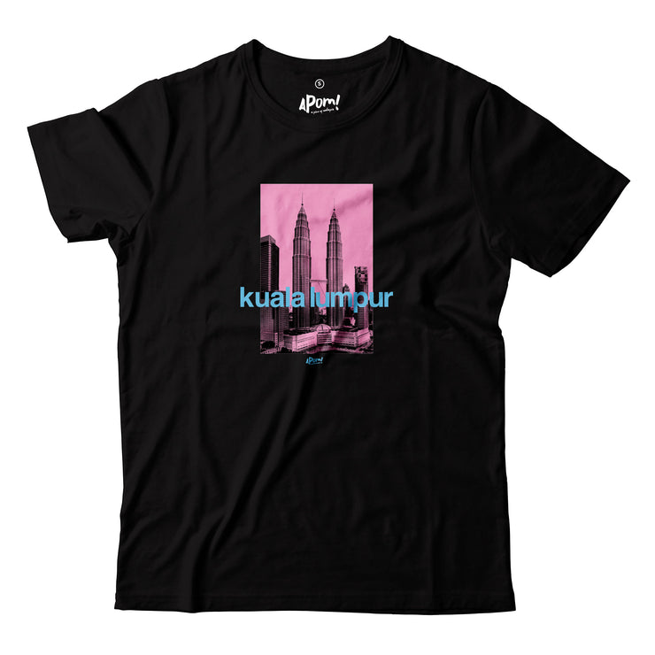The Petronas Twin Towers once stood as the tallest towers in the world. Stand tall with this KLCC street tee. If you want to bring home a piece of Malaysia this is a must have souvenir. This short-sleeved variant will keep you cool in Malaysian Weather!