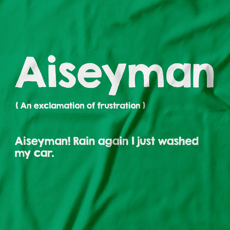 Close up on 'Aisyman' (an exclamation of frustration) . Part of Apom's Slang series; Malaysia's urban dictionary!