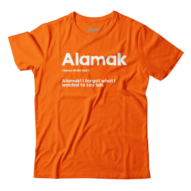 In this Orange T-Shirt, Apom explains the meaning of the local slang 'Alaska' as well as gives an example of it's meaning.