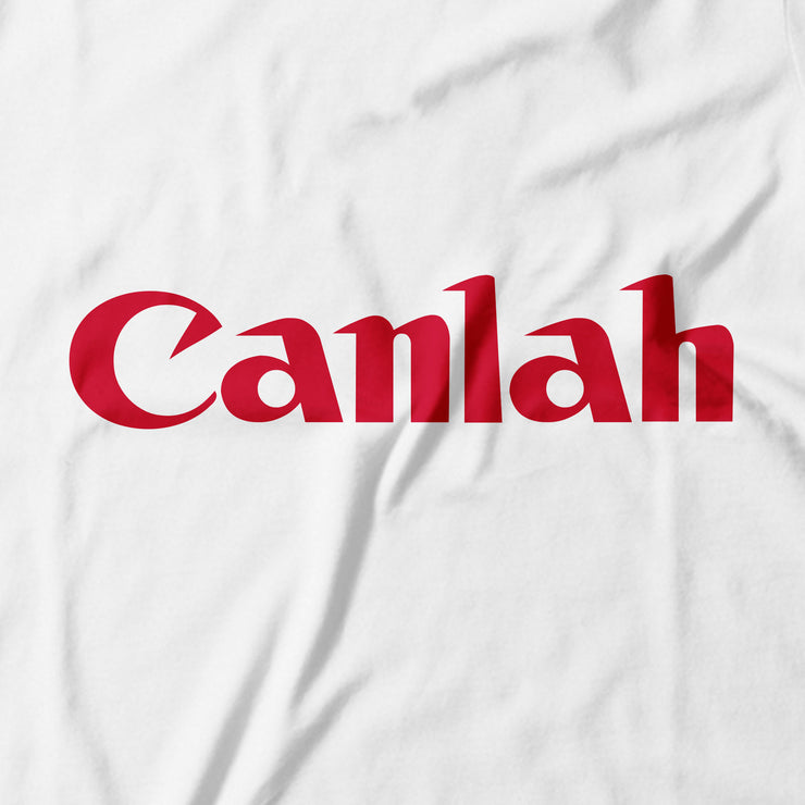 Adult - T-Shirt - Canlah! - White