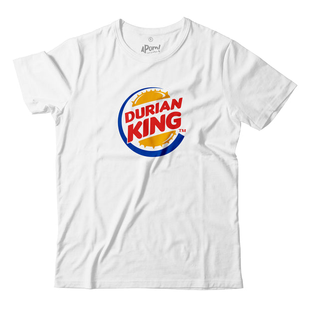 Adult - T-Shirt - Durian King - White