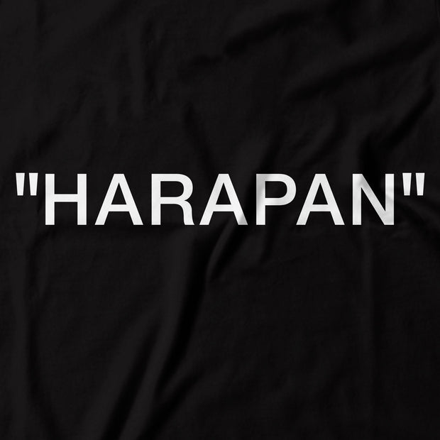 Adult - T-Shirt - Harapan Quote - Black