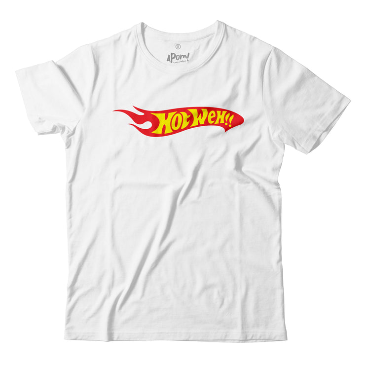 Kids - T-Shirt - Hotweh - White