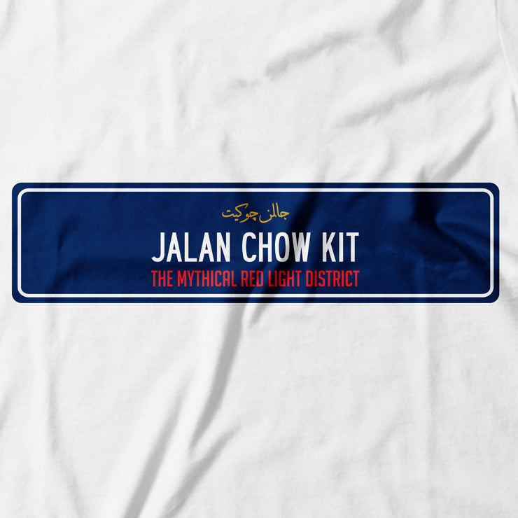 Adult - T-Shirt - Jalan Chow Kit - White