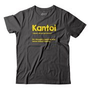 Adult - T-Shirt - Kantoi - Grey