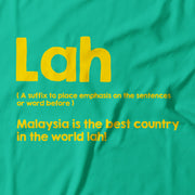 Adult - T-Shirt - Lah - Turquoise