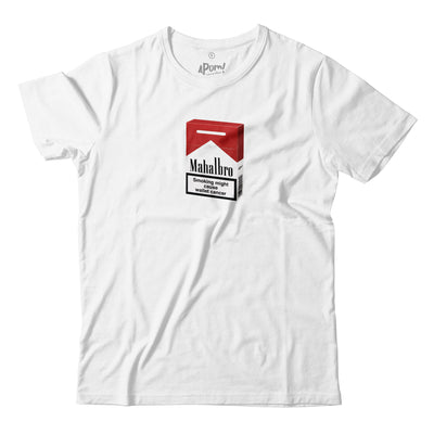 Adult - T-Shirt - Mahalbro 3D - White
