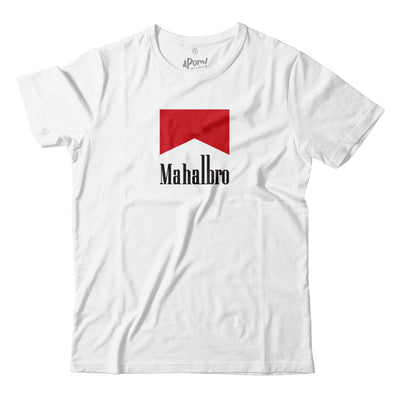 Adult - T-Shirt - Mahalbro - White