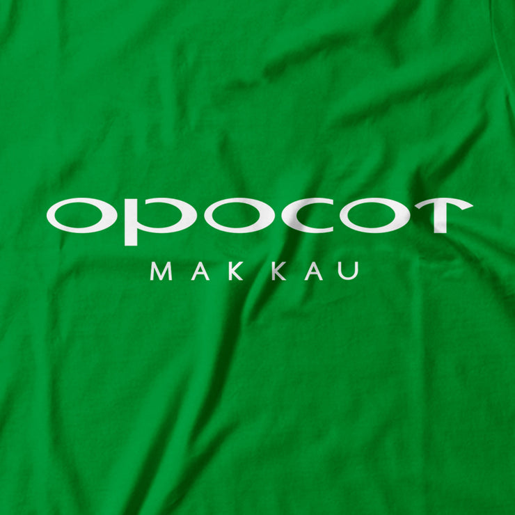 Adult - T-Shirt - Opocot - Light Green