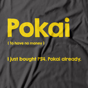 Adult - T-Shirt - Pokai - Grey