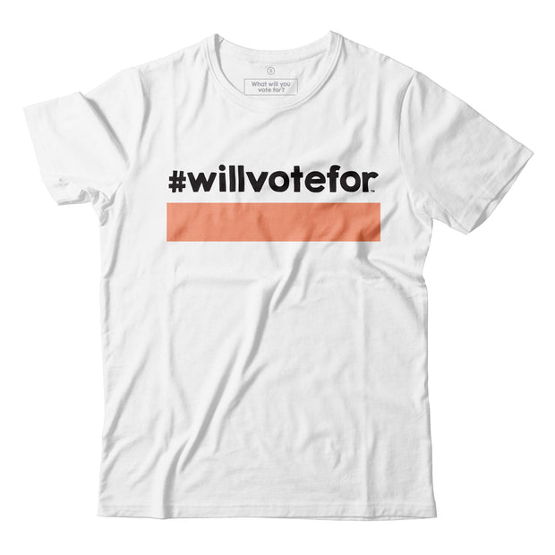 Adult - T-Shirt - Will Vote For