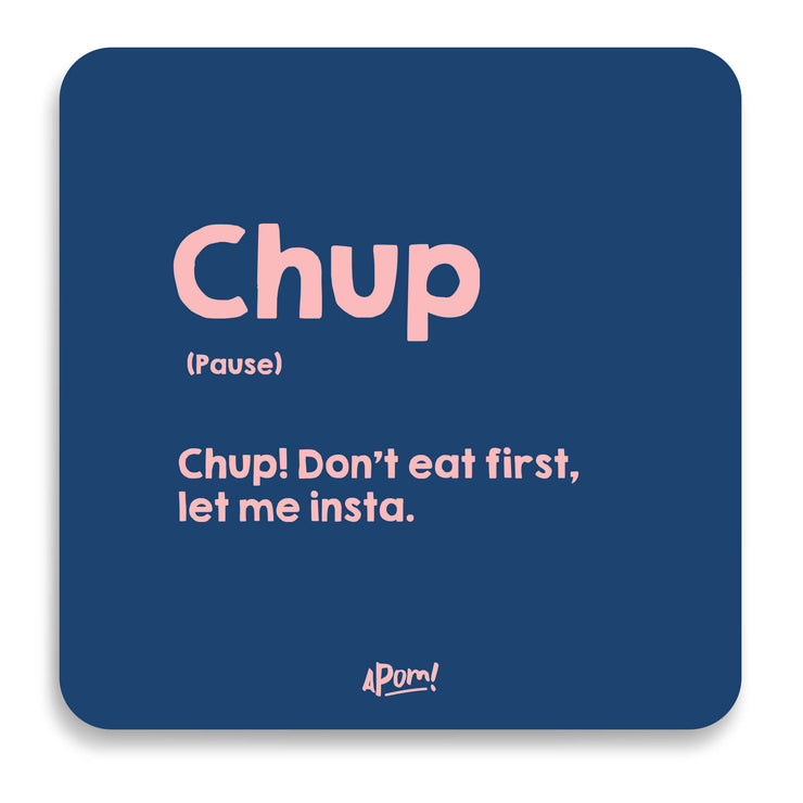 Chup Drink Coaster