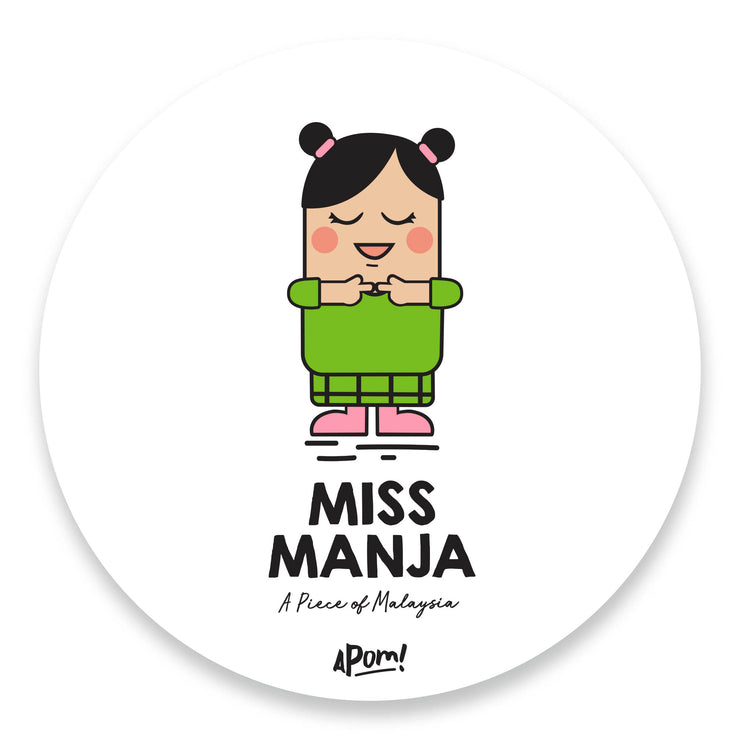 Miss Manja Drink Coaster