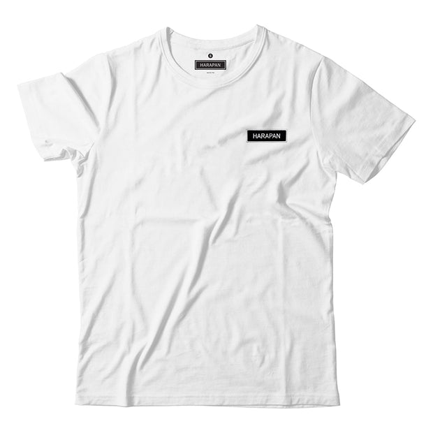 Adult - T-Shirt - Harapan Patch - White
