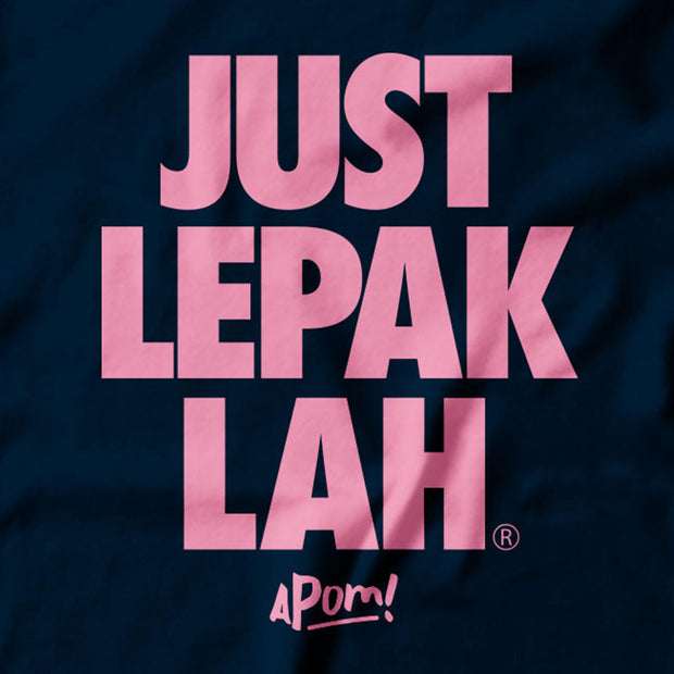 Adult - T-Shirt - Just Lepak - Lepak Till Midnight Blue