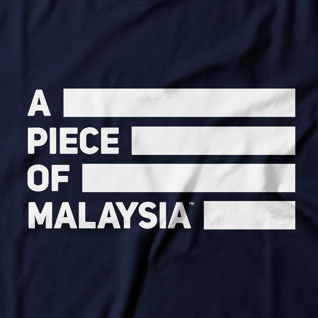 Kids - T-Shirt - A Piece Of Malaysia Street - Blue