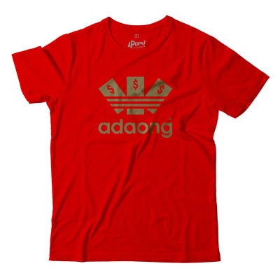 After buying this shirt, sure 'ADAONG' this year!  Need a red shirt for Chinese New Year? Want to one up your cousin with all the fancy Adidas? This is the Shirt from you!