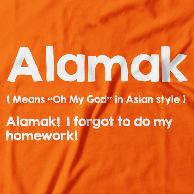 Kids - T-Shirt - Alamak - Orange