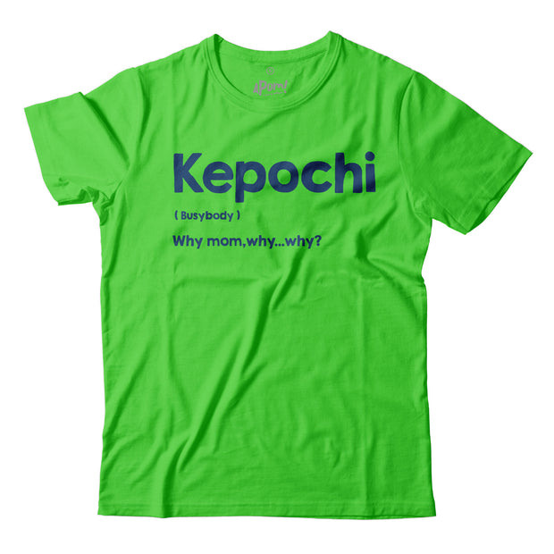 Kids - T-Shirt - Kepochi - Lime Green