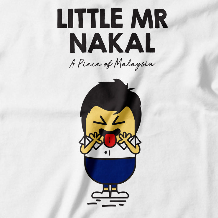 Kids - T-Shirt - Little Mr Nakal - White