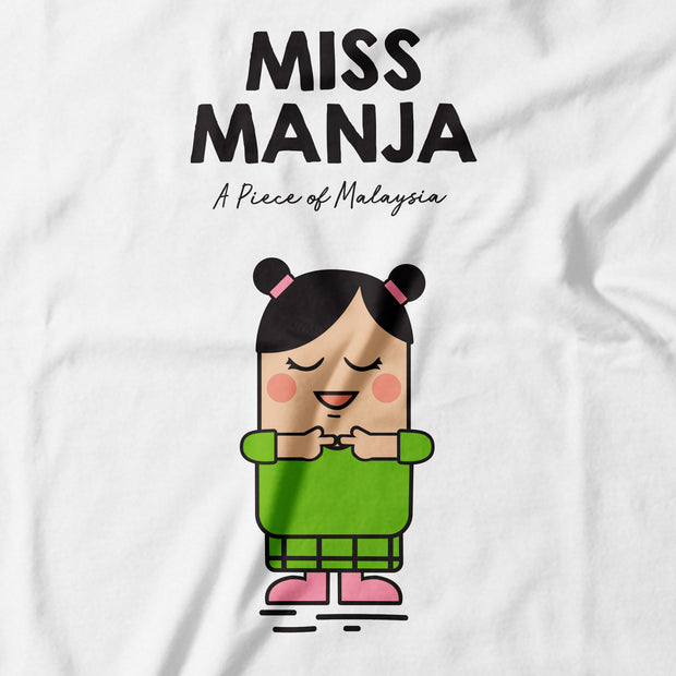 Kids - T-Shirt - Miss Manja - White