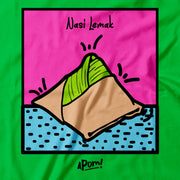 Kids - T-Shirt - POP Culture Nasi Lemak - Green