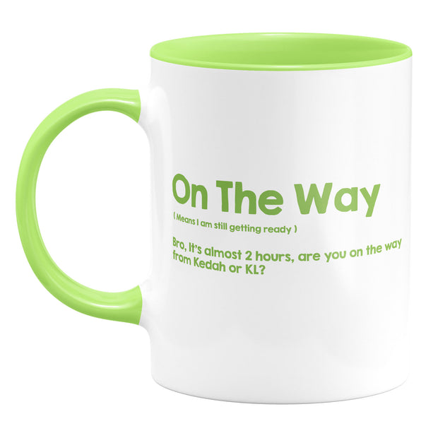 Mug - On The Way