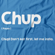 Adult - T-Shirt - Chup - Blue
