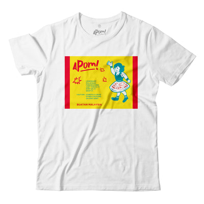 Adult - T-Shirt - Pop Pop Crackers - White