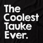 Adult - T-Shirt - The Coolest Tauke Ever - Black