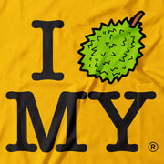 Adult - T-Shirt - I Durian MY - Yellow