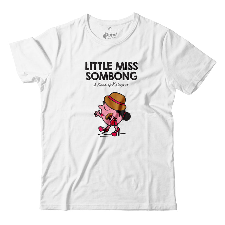 Adult - T-Shirt - Little Miss Sombong - White
