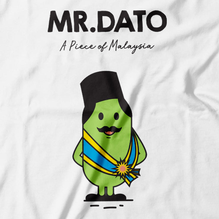 Adult - T-Shirt - Mr Dato - White