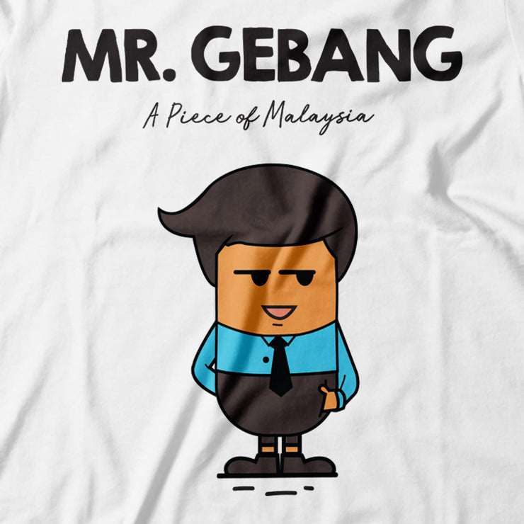 Adult - T-Shirt - Mr Gebang - White