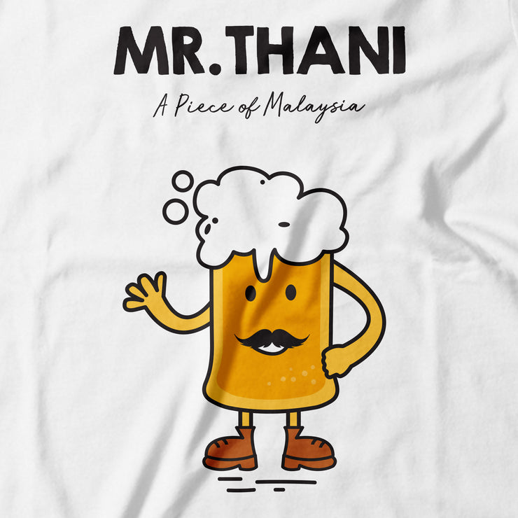Adult - T-Shirt - Mr Thani - White