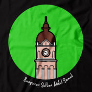 Kids - T-Shirt - POP Landmark Sultan Abdul Samad - Black