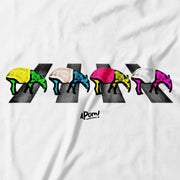 Kids - T-Shirt - Tapir Road - White