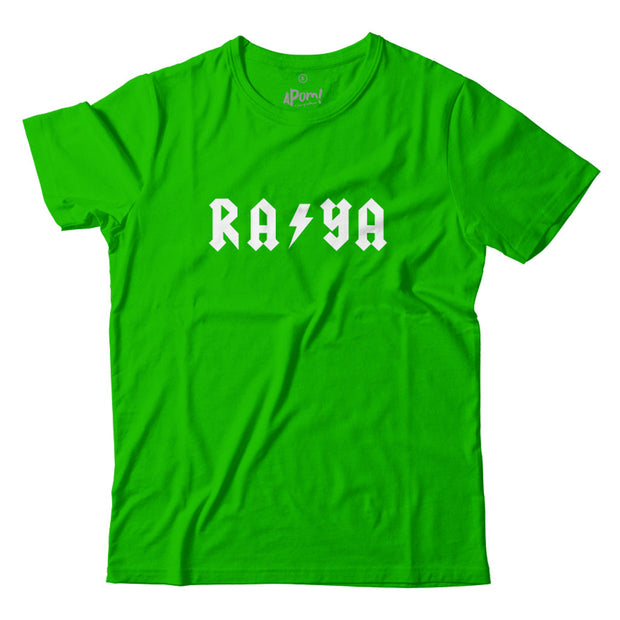 Adult - T-Shirt - Raya Lightning - Lime Green