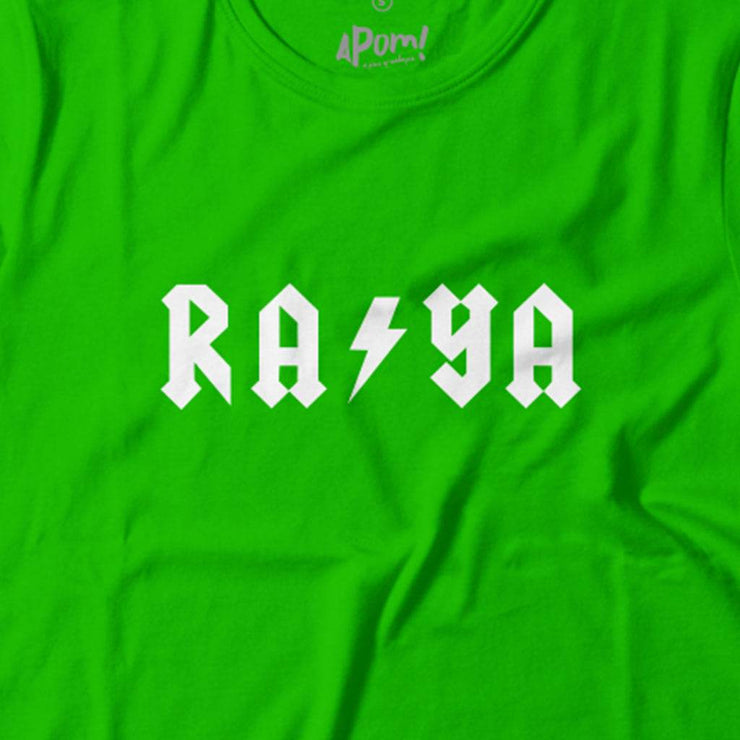 Kids - T-Shirt - Raya Lightning - Lime Green