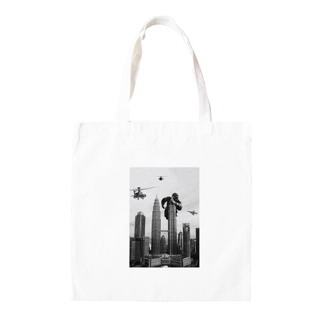 Tote Bag - King Kong On Twin Towers