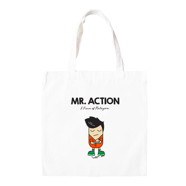 Tote Bag - Mr Action
